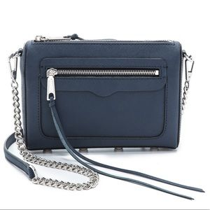 Rebecca Minkoff Avery Crossbody Moon Navy NWOT
